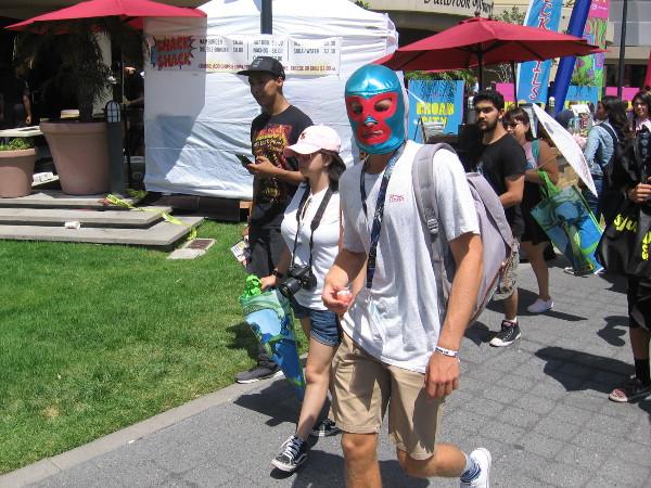 A lucha libre mask!