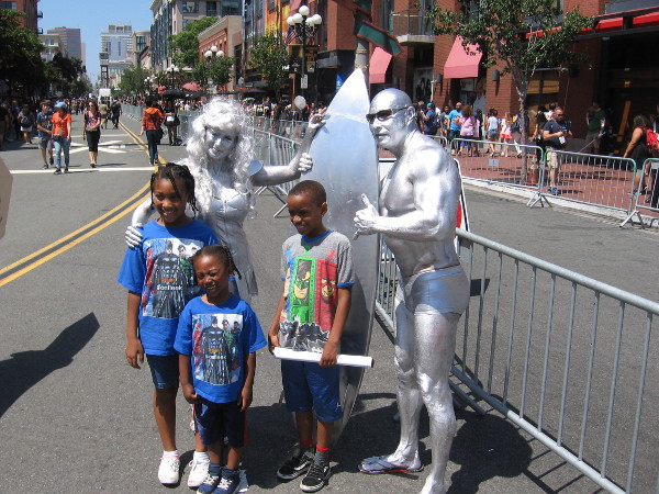 Now that's a real, genuine Silver Surfer!