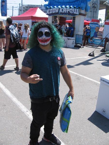 The Joker is on the scene!