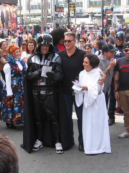 Celebrity sightings are possible throughout San Diego Comic-Con!