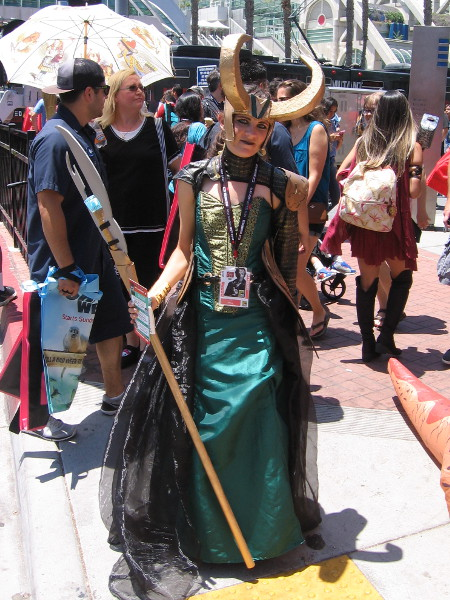 Another very cool Loki cosplay!