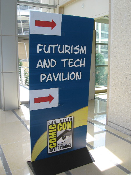 This cool, free Comic-Con venue allows organizations and businesses to showcase their latest efforts in technology, artificial intelligence and virtual reality.