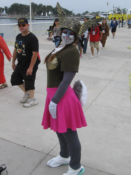 This might be my favorite cosplay. Opera Bugs Bunny! What's Opera, Doc?