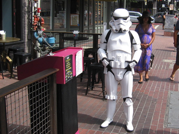 A good old fashioned Stormtrooper.