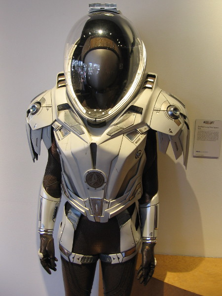 A Starfleet Long Haul Space Suit.