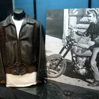 See the motorcycle used by The Fonz on Happy Days!