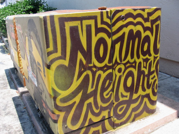 Normal Heights is home to lots of great street art and other cool sights!
