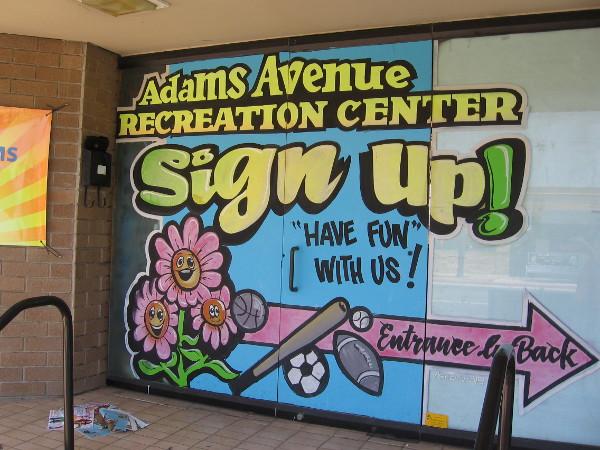 Street Art Along Adams Avenue In Normal Heights Cool