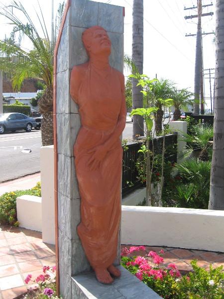 The second terracotta figure.