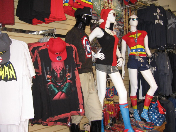The San Diego Trading Company in the Gaslamp is stocked up on lots of Comic-Con gear!