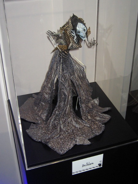 Detailed model of Beldam from the movie Coraline.