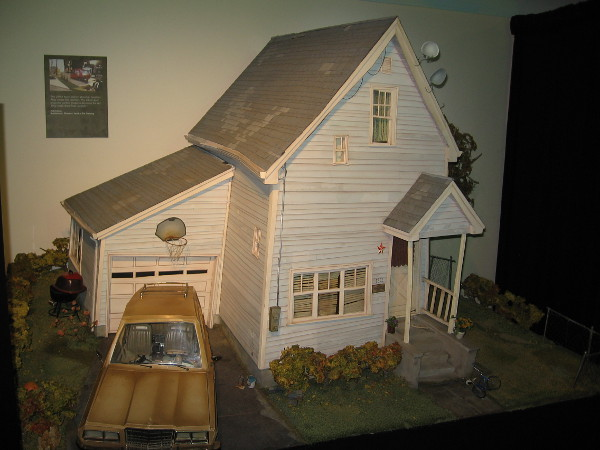 Awesome model of the crooked house from ParaNorman!