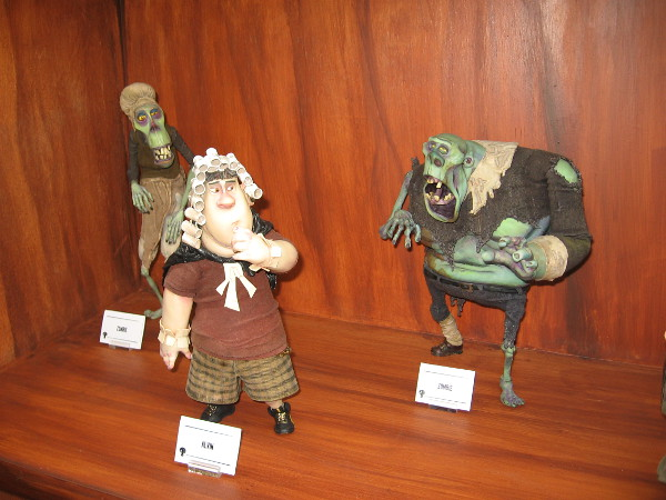 Cool models of characters from ParaNorman.