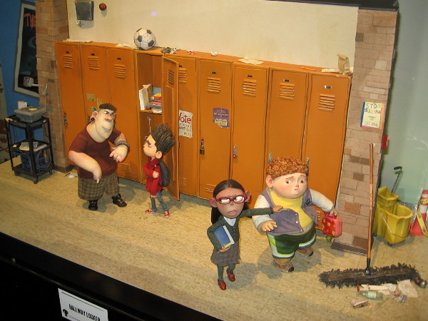 From a hallway locker scene in ParaNorman!