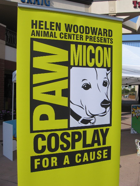 Helen Woodward Animal Center created PAWmicon to help adoptable dogs find loving homes. Cosplay for a cause.