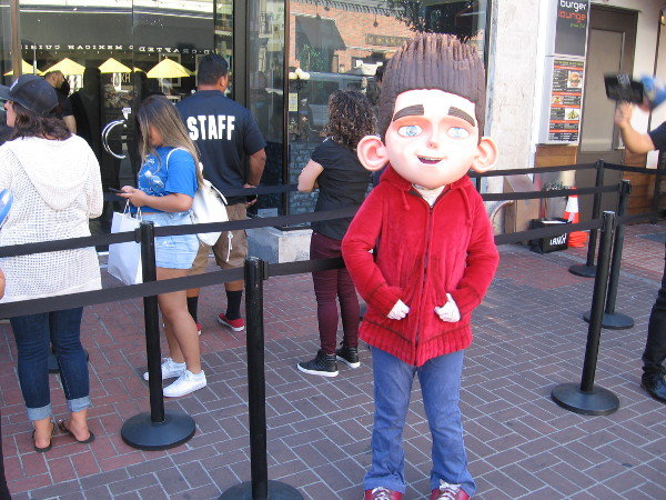 Norman is out on a San Diego sidewalk! You can meet him during Comic-Con and see a very cool exhibit created by Laika!