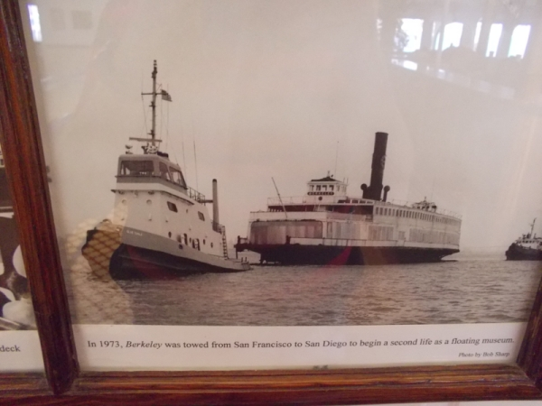 In 1973, Berkeley was towed down the coast to San Diego to begin a second life as floating museum.