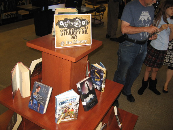 Steampunk Day at the San Diego Central Library promotes S.T.E.A.M. learning. Readers, students and imaginative people can explore history, science and technology!
