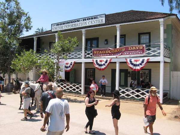 History comes to life during Stagecoach Days in Old Town San Diego State Historic Park. There's a different theme each Saturday in July and August.