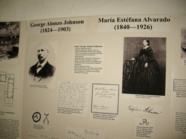 Captain George Alonzo Johnson, a pioneer and businessman, came to California in 1849 during the Gold Rush. He became a rancher and horse breeder.