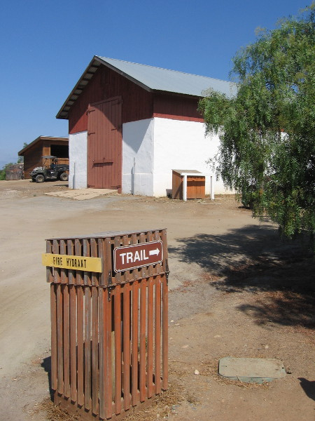 The Mohnike Barn was constructed in 1912 of adobe and wood. Charles Mohnike, a rancher who purchased the property in 1910, was the builder.