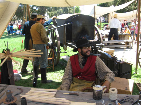 These guys also had a traveling battery forge, used by the Army long ago. Today they are often used in Civil War reenactments.