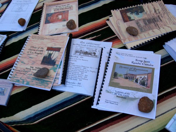Publications by a project called San Diego Friends of Old Time Music. Author Vykki Mende Gray is helping to preserve the musical history of California.
