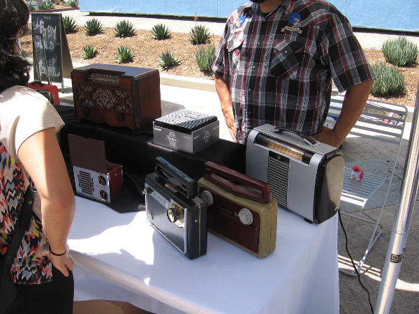 Izzy's Sounds is on Etsy. He makes one-of-a-kind bluetooth speakers out of vintage radios and other interesting objects.