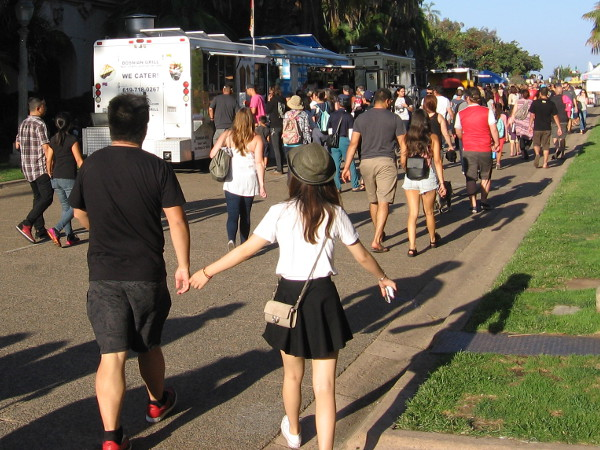 A truly Happy Friday in San Diego's always amazing Balboa Park.