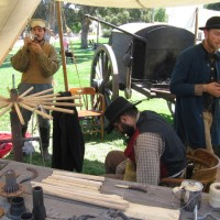 Trades That Shaped the West demonstrated in Old Town!