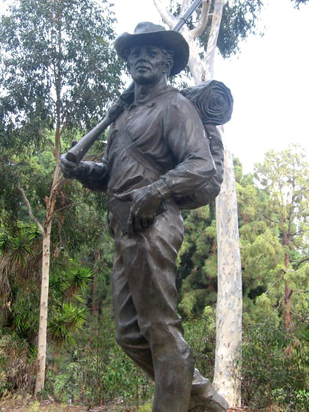 Mormon Battalion Monument by Edward J. Fraughton.