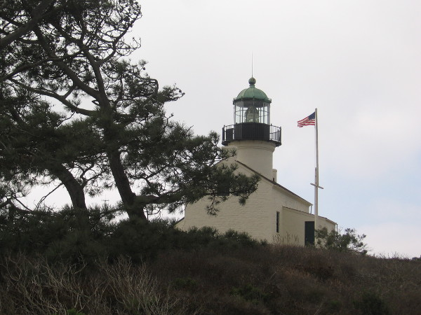 Walking around the old lighthouse is a wonderful experience, with amazing views in all directions.