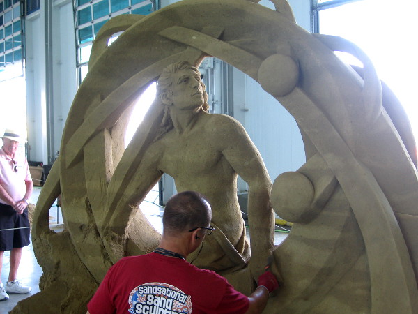 Another fantastic work of art at the 2017 U.S. Sand Sculpting Challenge.