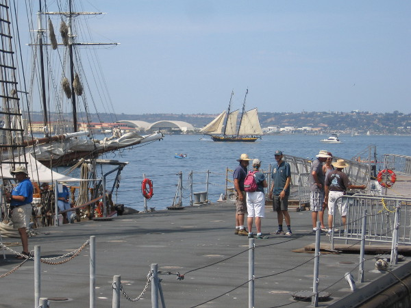 Another perfect day at the Festival of Sail. I could linger all day.