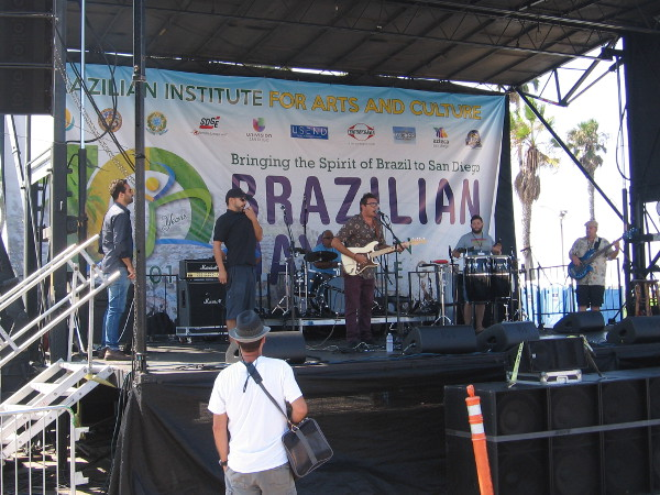 The music was playing as soon as the festival got started. The Brazilian Institute for Arts and Culture was bringing the spirit of Brazil to San Diego!