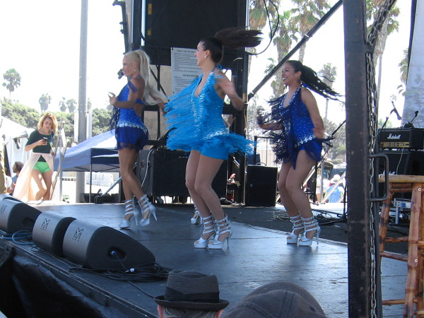 Brazilian culture was celebrated today in San Diego's sunny Mission Beach!