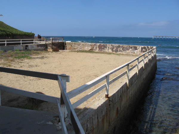 The Plunge, often called the Sandbox, was built in 1917. Famous English Channel swimmer Florence Chadwick, who grew up in San Diego, trained here.