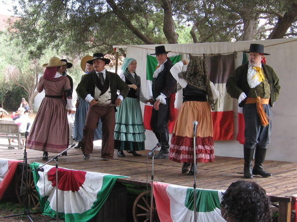 The annual event features authentic costumes from a time when San Diego was a small Mexican town in Alta California.