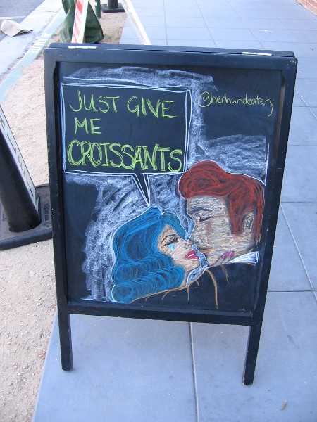 Art, love, tears, humor . . . and croissants. Elements that are shared in many stories.