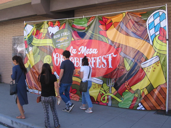 What makes the annual La Mesa Oktoberfest such an awesome event?