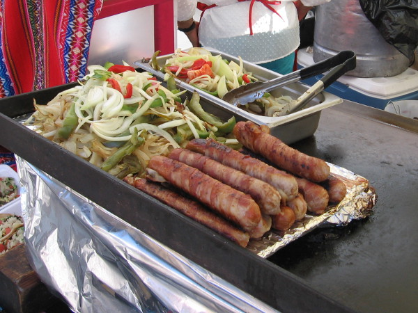 And more sausages!