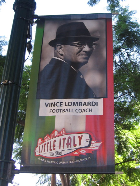Many in Little Italy have had their lives positively influenced by Vince Lombardi.
