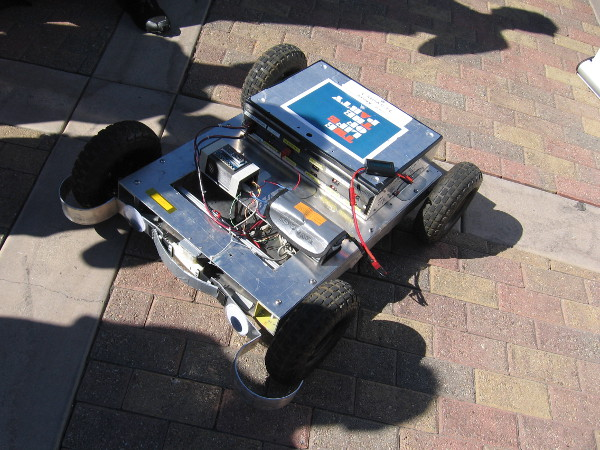 The Glendale Robotics Academy had their Party Rover on display in the Japanese Friendship Garden.