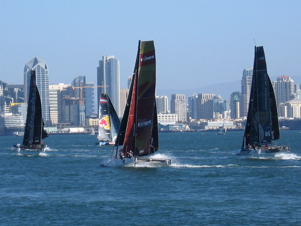 Some of the best sailors in the world, many who've won Olympic Gold, various world championships, and the America's Cup, vie for supremacy in San Diego.