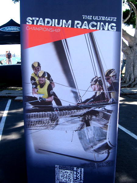 The Extreme Sailing Series includes stadium racing competition in eight international cities. San Diego is Act 7.
