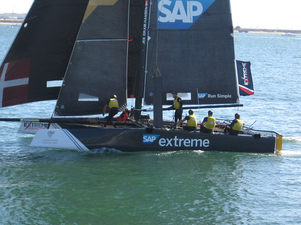 The SAP Extreme Racing Team out of Denmark seemed ahead of the pack nearly every race. They've already been the winner in 3 cities.