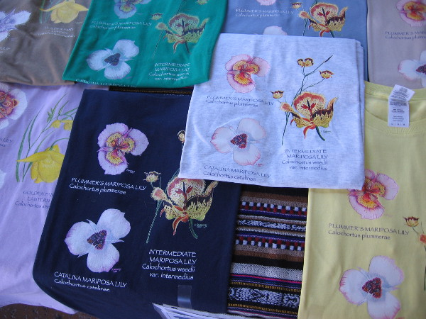 He also created these flower shirts.