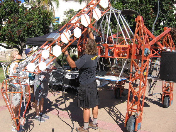 Cool robots of every size and description are on display throughout Balboa Park during 2017 Maker Faire San Diego!