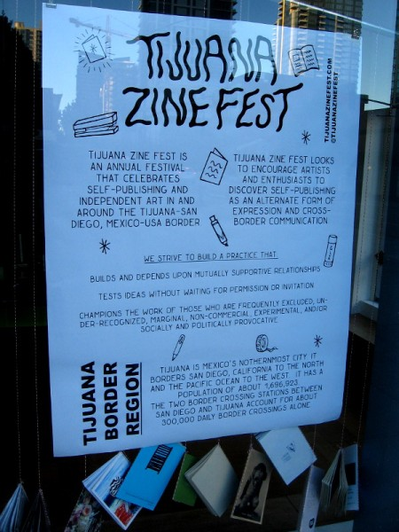 Tijuana Zine Fest is an annual festival that celebrates self-publishing and independent art in the culturally fertile Tijuana-San Diego border region.