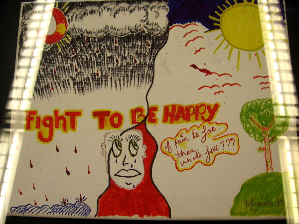 Fight To Be Happy, by Marius.